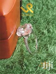 Square Cut Ladies Genuine  Silver Engagement Ring   Jewelry for sale in Nairobi, Lower Savannah