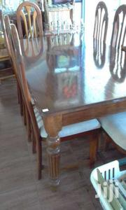 Mahogany Dinning Table & 8 Chairs | Furniture for sale in Mombasa, Mkomani