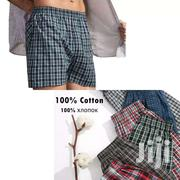 Victan Cotton Checked Boxer Shorts | Clothing for sale in Nairobi, Kasarani