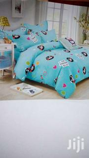 Warm 4*6 Cotton Duvets With A Matching Bed Sheet And Two Pillowcases | Furniture for sale in Nairobi, Kilimani