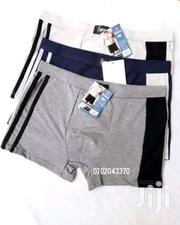 Brief Men Boxers Side Stripped Designer Boxer Shorts | Clothing Accessories for sale in Nairobi, Kasarani