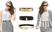 Mettalic Waist Belt With A Black Band | Clothing Accessories for sale in Nairobi, Karen