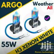 H3 55watts Latest Xenon Filled Rainbow Finish White Halogen Bulb Set | Vehicle Parts & Accessories for sale in Nairobi, Parklands/Highridge