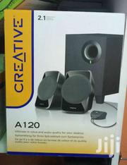 CREATIVE A120 – 2.1ch PC Speakers With Subwoofer – Black | Audio & Music Equipment for sale in Nairobi, Nairobi Central