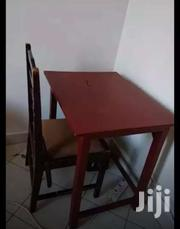 2nd Hand Study/Kitchen Table Plus Chair | Furniture for sale in Kiambu, Township E