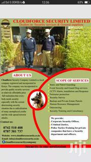 Security | Other Services for sale in Nairobi, Kawangware