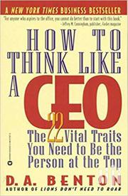 How To Think Like A CEO - D.A Benton | Books & Games for sale in Nairobi, Nairobi Central