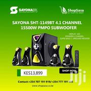 Sayona SHT-1149BT 4.1 Channel 15500W PMPO Subwoofer | Audio & Music Equipment for sale in Nairobi, Nairobi Central