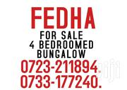 FEDHA ESTATE 4 BEDROOMED BUNGALOW | Houses & Apartments For Sale for sale in Nairobi, Embakasi