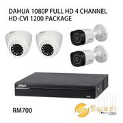 4 Cctv Camera Installation HD With Night Vision Full Set | Security & Surveillance for sale in Nairobi, Nairobi Central