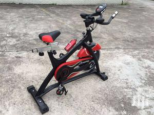 Commercial Spin Exercise Bike With Pulse Sensors