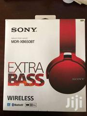 Sony Wireless Bluetooth EXTRA BASS Headphones - MDR-XB650BT - Ruby Red | Accessories for Mobile Phones & Tablets for sale in Nairobi, Kilimani