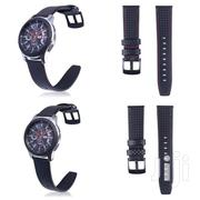 Galaxy Gear S3 Classic Frontier Carbon Fiber Genuine Leather | Accessories for Mobile Phones & Tablets for sale in Mombasa, Tudor