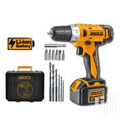 Ingco Cordless Drill Set | Electrical Tools for sale in Kiambu, Township C