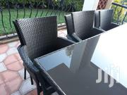 Glass Table And Chair Set Excellent Cond | Furniture for sale in Nairobi, Kilimani