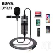 Boya M1  Phone Microphone Lapel Lavalier Audio Mic For Voicerecording | Audio & Music Equipment for sale in Nairobi, Nairobi Central
