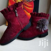Maroon Boots Size 32 | Toys for sale in Mombasa, Majengo