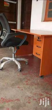 Cherry 1 Meters Desk And Chair Ksh 11,950 With Free Delivery | Furniture for sale in Nairobi, Nairobi West