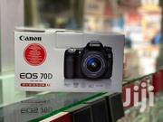 Canon EOS 70D With 18-55mm Lens Brand New | Cameras, Video Cameras & Accessories for sale in Nairobi, Nairobi Central