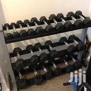 Rubber Hex Dumbbells For Gym And Fitness | Sports Equipment for sale in Nairobi, Parklands/Highridge