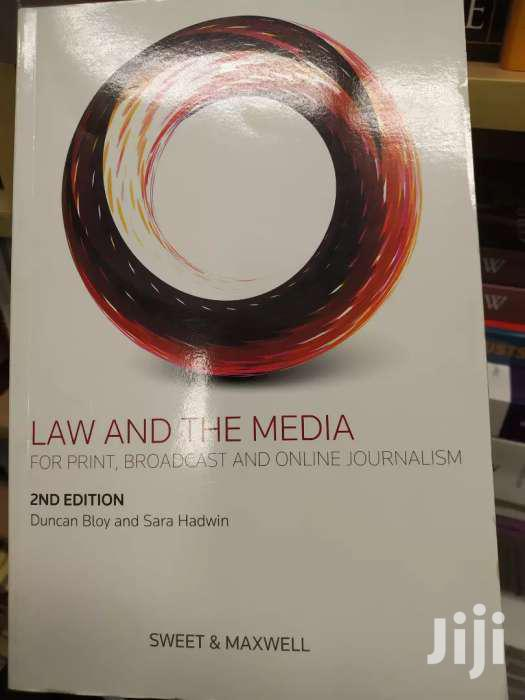 Law And The Media -sweet And Maxwell