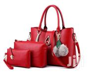 Fashion Ladies Handbag 3 In 1- Red | Bags for sale in Nairobi, Nairobi Central