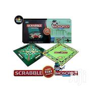 2-in-1 Monopoly & Scrabble Set Classic Board Game Educational | Books & Games for sale in Nairobi, Nairobi Central