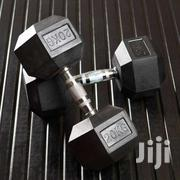 Gym 20 Kg Rubber Dumbbell Pairs | Sports Equipment for sale in Nairobi, Nairobi Central