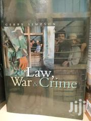 Law War And Crime -gerry Simpson | Books & Games for sale in Nairobi, Nairobi Central