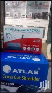 A4 Comb Binder Binding Machine-grey-black-multicolor   Stationery for sale in Nairobi, Nairobi Central