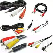 3pin Audio And Video RCA Cables | Audio & Music Equipment for sale in Nairobi, Nairobi Central