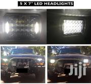 5 X 7 LED Headlights (Pair) for Jeep Wrangler YJ / Cherokee XJ | Vehicle Parts & Accessories for sale in Nairobi, Nairobi Central