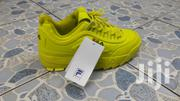 Yellow Fila Ladies Sneakers - 45 size | Shoes for sale in Nairobi, Nairobi Central