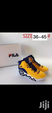 Yellow Men's Fila Sneakers / 45 size | Shoes for sale in Nairobi, Nairobi Central