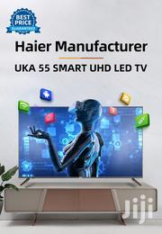 Mooka And UKA 55 Inches UHD SMART TV Haier Manufacturer Black | TV & DVD Equipment for sale in Nairobi, Nairobi Central