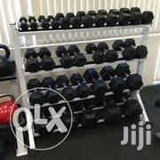 Fixed Rubber Dumbbell Sets | Sports Equipment for sale in Homa Bay, Mfangano Island