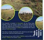 Residential Or Commercial Plots For Sale, Off Eastern Bypass | Land & Plots For Sale for sale in Kiambu, Gitothua