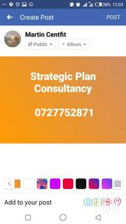 Strategic Planning Consultancy | Other Services for sale in Nairobi, Nairobi Central