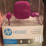HP H5000 Headset Bluetooth Stereo | Headphones for sale in Nairobi, Nairobi Central