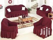 Sofa Cover Maroon Loose Cover   Home Accessories for sale in Nairobi, Nairobi Central