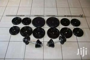 Durable Gym Weight Plates And Barbells