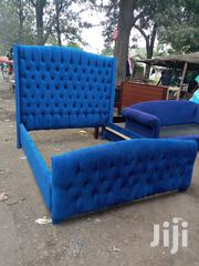 5x6 Buttoned Bed   Furniture for sale in Nairobi, Ngara