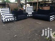 5 Seaters Chesterfield Sofa Plus 2 Wingback Chair | Furniture for sale in Nairobi, Ngara