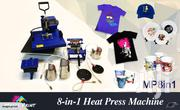 Heat Press Machine 5in 1 | Printing Equipment for sale in Nairobi, Nairobi Central
