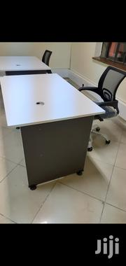 White Desk 1meter Without Drawer+Chair | Furniture for sale in Nairobi, Nairobi West