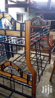 Mix Wood Plus Metallic Double Decker Beds | Furniture for sale in Nairobi, Eastleigh North