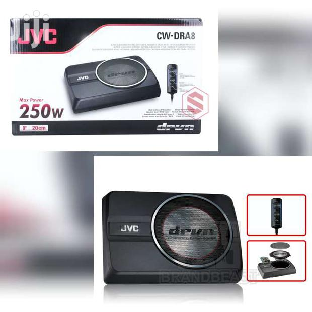 CW-DRA8 JVC UNDERSEAT SUBWOOFER
