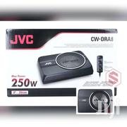 JVC CW-DRA8 250 WATTS 8 DRVN SERIES COMPACT POWERED CAR AUDIO SUBW"