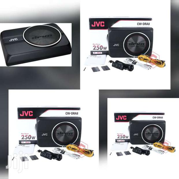 CW-DRA8 POWERED UNDERSEAT SUB-WOOFER
