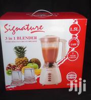 3 In 1 Signature Blender With Mini-cup Circuit Breaker | Kitchen Appliances for sale in Nairobi, Nairobi Central